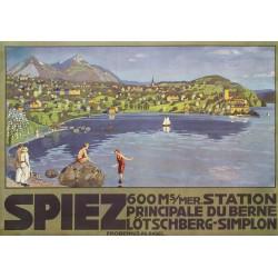 SPIEZ, OSKAR DOSWALD, 1913