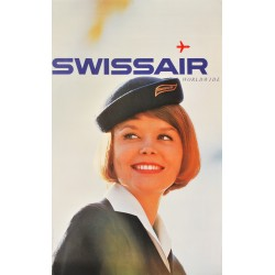 Swissair Worldwide. 1964.