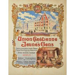 Union chrétienne de jeunes gens. Genève. Vers 1900.
