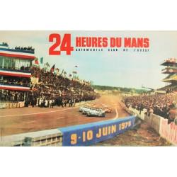 A. Dourmel. 24 Heures du Mans 1973.