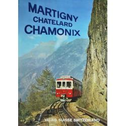 Oscar Darbellay. Martigny - Châtelard - Chamonix. 1963.