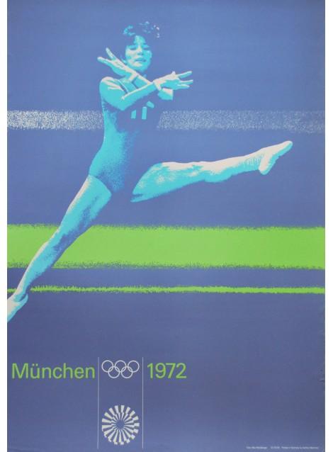 Otl Aicher. Max Mühlberger (photo). Olympische Spiele München. 1972.