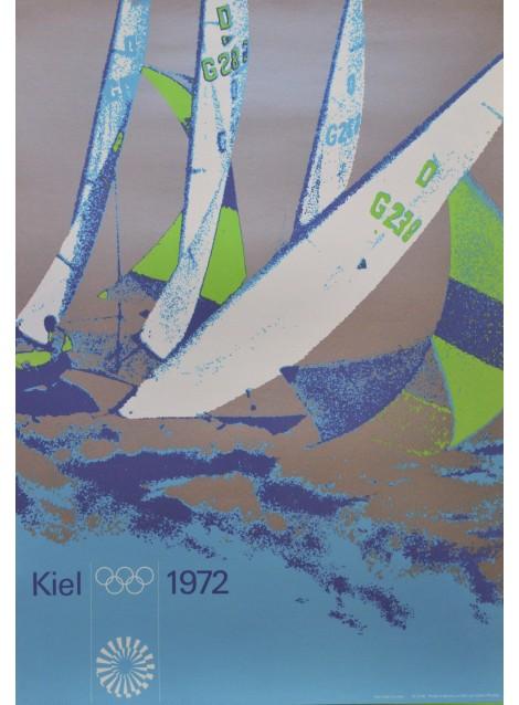 Otl Aicher. Peter Cornelius (photo). Olympische Spiele München. 1972.