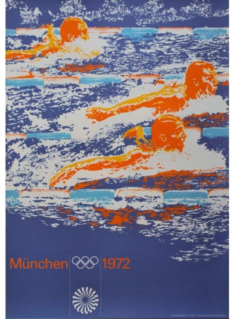Otl Aicher. Herbert Graaf (photo). Olympische Spiele München. 1972.