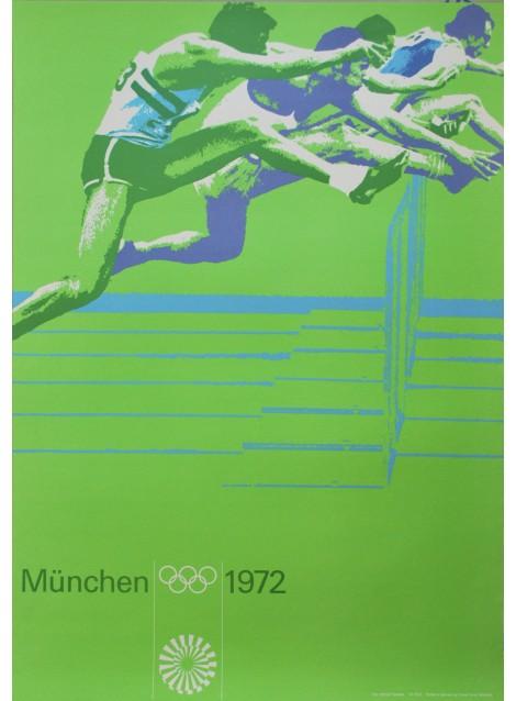Otl Aicher. Albrecht Gaebele (photo). Olympische Spiele München. 1972.