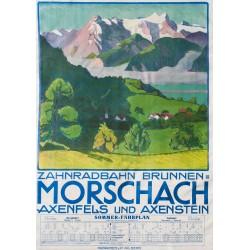 ZAHNRADBAHN BRUNNEN-MORSCHACH, WILHELM GIMMI, 1913