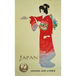 Shoen Uemura. Japan Airlines.