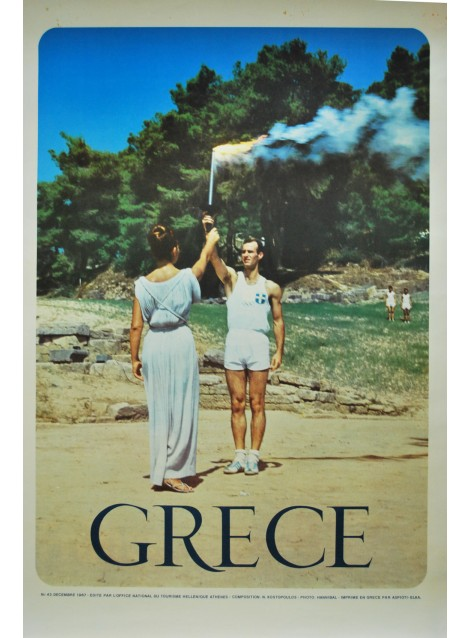 N kostopoulos gr ce 1967 posters we love - Office du tourisme athenes ...