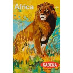 SABENA. AFRICA. 1968
