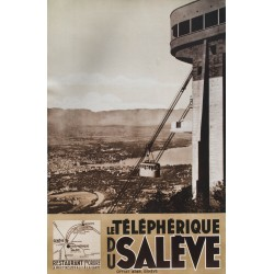 TELEPHERIQUE DU SALEVE. 1932.