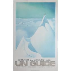 Samivel. Découvrez la montagne avec un guide. Vers 1975.