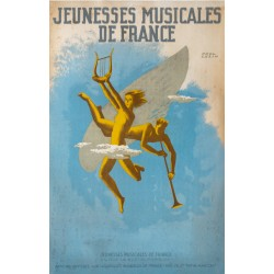 Paul Colin. Jeunesses musicales de France. Vers 1955.