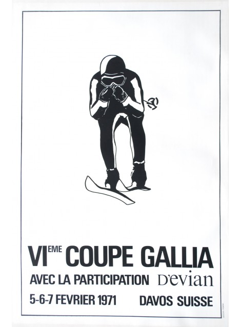 Frank. Coupe Gallia, Davos. 1971.