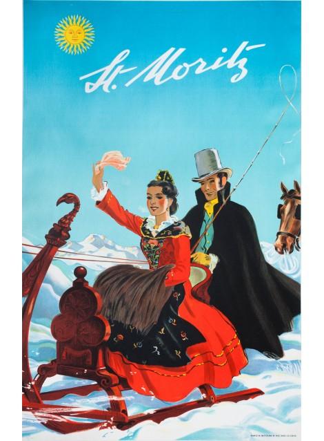 ST. MORITZ, HUGO LAUBI, 1944