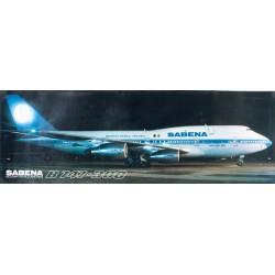 Sabena. Boeing 747-300. 1986.