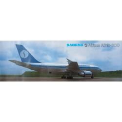 Gabriel Liesse. Sabena. Airbus A310-300. 1987.