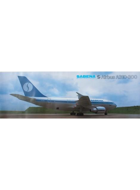 Sabena. Airbus A310-300. 1987.