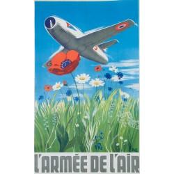 Delfo. L'Armée de l'air. Vers 1955.