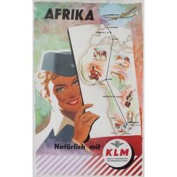 Frans Mettes. KLM Afrika. 1954.