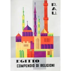 Egitto, Compendio di religioni. Vers 1950.