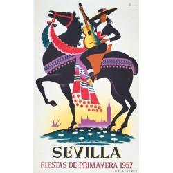 Sevilla, Fiesta de Primavera. 1957.