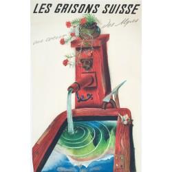 Alois Carigiet. Les Grisons, Au coeur des Alpes. 1937.