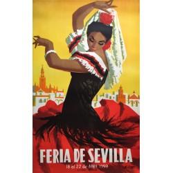 Manuel Flores Pérez. Feria de Sevilla. 1959.