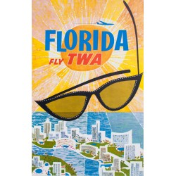 FLORIDA FLY TWA, DAVID KLEIN, 1960