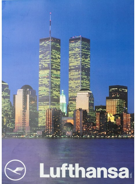 poster new york twin towers