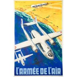 Paul Lengellé. L'Armée de l'air. Vers 1955.