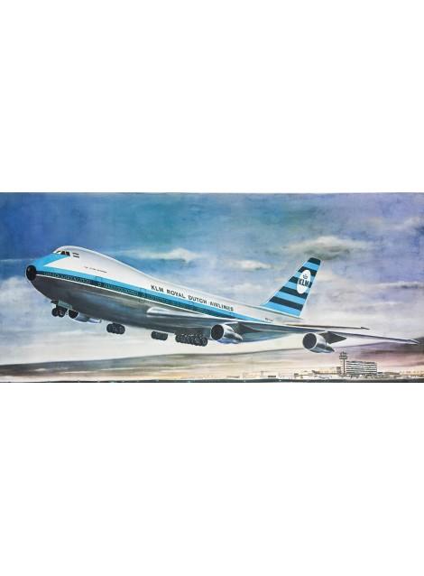 KLM. Royal Dutch Airlines. Boeing 747. Vers 1970.