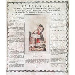Le colporteur genevois. 1782.