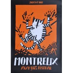 Tomi Ungerer. Festival de jazz, Montreux. 1993.