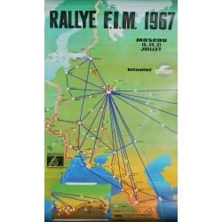 Rallye F.I.M., Moscou. Juillet 1967.