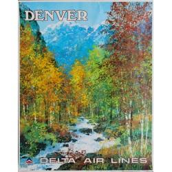 Jack Laycox. Denver. Delta Air Lines. Vers 1970.