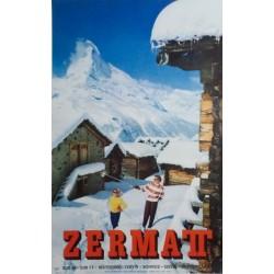 Alfred Perren-Barberini. Zermatt. 1959.