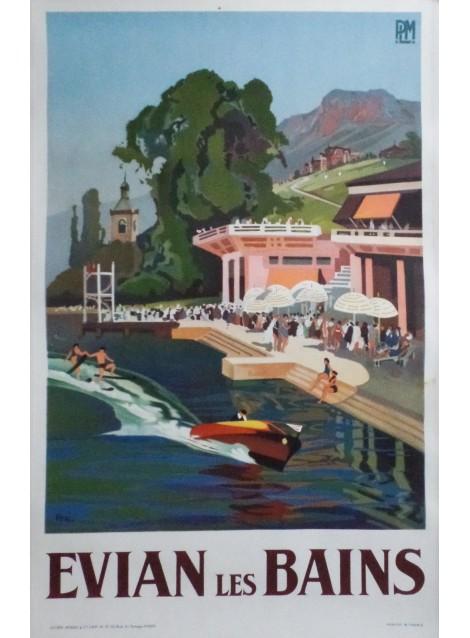 Lucien Péri. Evian-les-Bains. Vers 1935.
