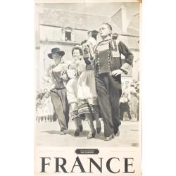 Emeric Feher. France. Danse en Bretagne. Vers 1945.