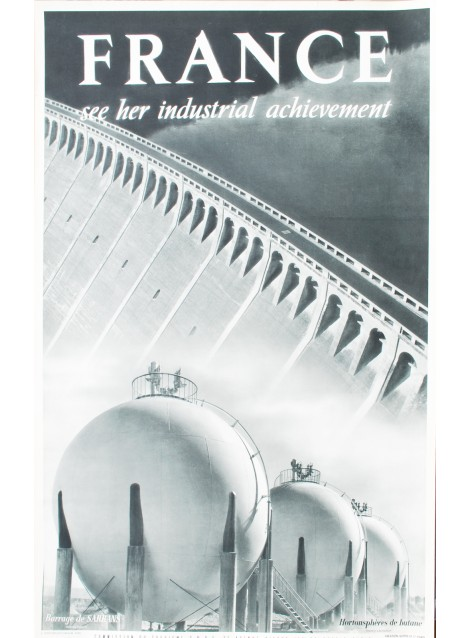 Emeric Feher. Henri Lacheroy. France, See her industrial achievment. Vers 1955.