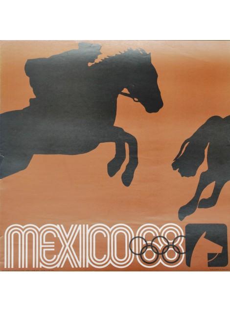 Lance Wyman. Mexico 68. Aviron. 1968.