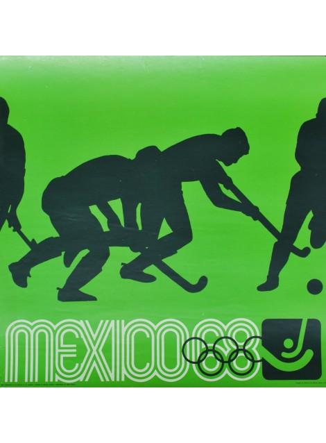 Lance Wyman. Mexico 68. Hippisme. 1968.