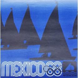Lance Wyman. Mexico 68. Voile. 1968.