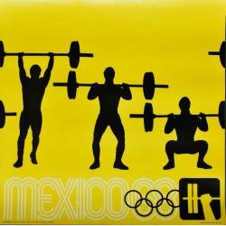 Lance Wyman. Mexico 68. Haltérophilie. 1968.