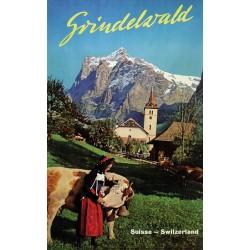 Ernst Henri Schudel. Grindelwald. 1950.