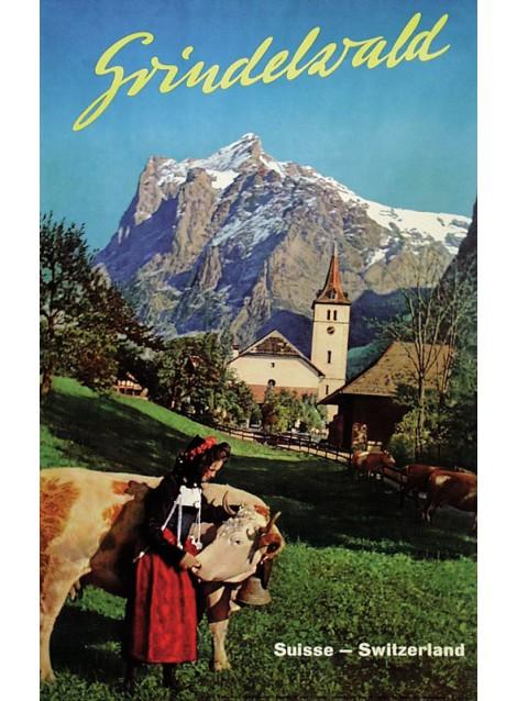 E. Schudel. Grindelwald. 1950.