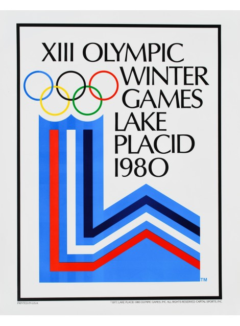 XIII Olympic Games Lake Placid. 1980.