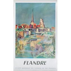 Arthur Fages. Flandre SNCF. 1953.