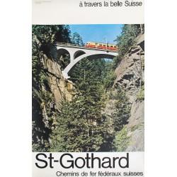 St-Gothard. CFF. Vers 1965.