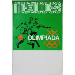 Lance Wyman. Mexico 68. Football. 1968.