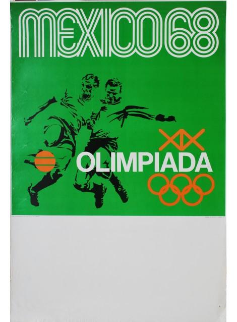 Lance Wyman. Mexico 68. Football. 1968.